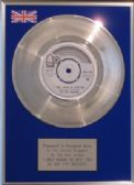 "BAY CITY ROLLERS - 7"" Silver  Disc - I ONLY WANT TO BE WITH YOU"